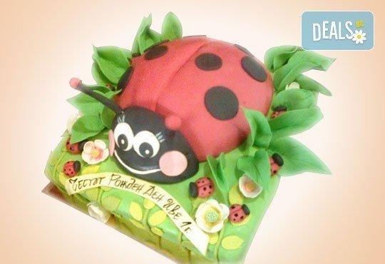 25 парчета! Детска 3D торта с фигурална ръчно изработена декорация от Сладкарница Джорджо Джани - Снимка 18