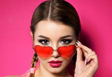 Поглед като от реклама! Удължаване и сгъстяване на мигли - 3D обем в студио за красота Dior! - Снимка