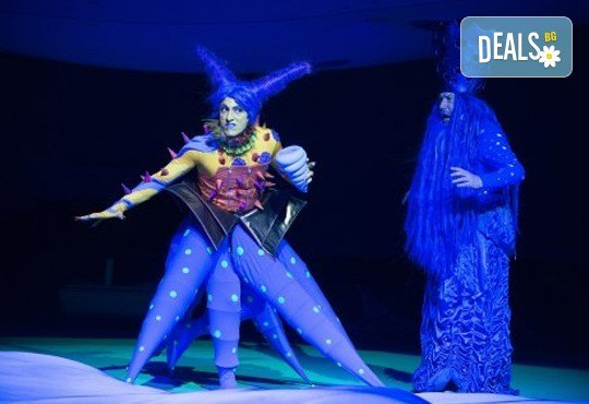 Гледайте с децата Малката морска сирена на 04.11. от 11 ч., в Театър ''София'', билет за двама! С награда Икар 2017 за сценография! - Снимка 5
