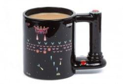 Оригинален подарък! Голяма, сменяща цвета си чаша за геймъри, изработена от качествена керамика! - Снимка