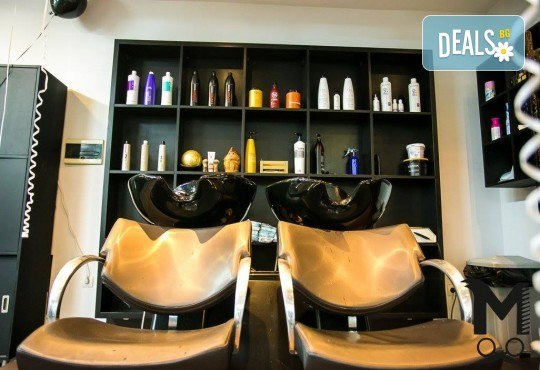 Дълбоко почистване на лице и хигиенно-козметичен масаж на лице, деколте и шия с масло от пшеничен заpодиш във Фризьорски салон Moataz Style! - Снимка 7