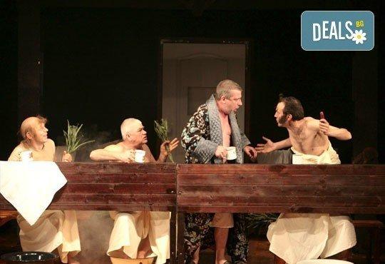 Гледайте Калин Врачански и Мария Сапунджиева в комедията Ревизор на 06.11. от 19 ч., в Театър ''София'', билет за един! - Снимка 7