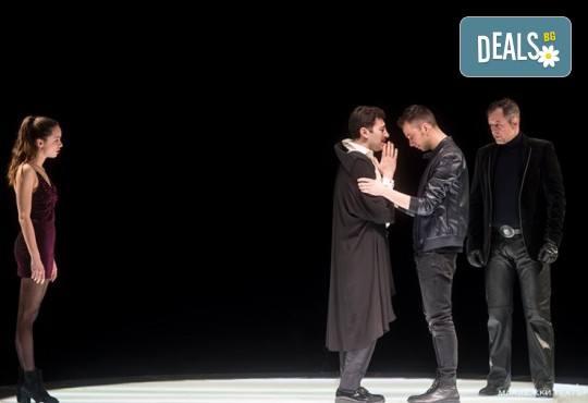 Гледайте Бойко Кръстанов, Александър Хаджиангелов, Михаил Билалов в Петел на 22.11. от 19 ч. в Младежки театър, билет за един! С номинация за Аскер 2018! - Снимка 4