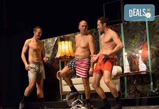 Много смях с великолепните актьори на Младежки театър! Гледайте Страхотни момчета, на 27.11. от 19ч., голяма сцена, билет за един - Снимка 6