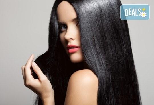 Придайте на косата си желания обем и блясък! Дълбоко подхранваща ботокс терапия, сешоар и плитка по избор в салон Veselina Todorova! - Снимка 2