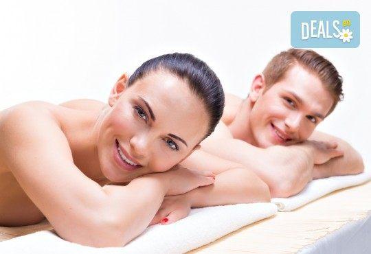 Релакс за двама! SPA масаж за двама с масло от канела и портокал, зонотерапия и комплимент ароматен чай в СПА център Senses Massage & Recreation! - Снимка 2