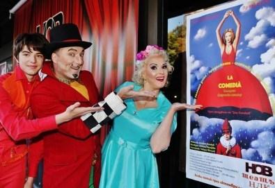 Българо-френската комедия La Comedia на 2-ри ноември (петък) от 19:30 часа в Нов Театър НДК! - Снимка