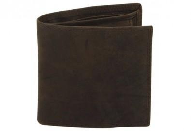 Направете оригинален подарък! Портфейл от естествена кожа в ловджийски, винтидж стил! - Снимка