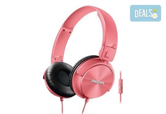 Красив аксесоар за Вас или приятелка! Дамски слушалки Philips SHL3065 тип диадема с микрофон! - Снимка 1