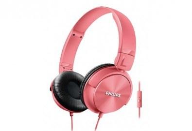 Красив аксесоар за Вас или приятелка! Дамски слушалки Philips SHL3065 тип диадема с микрофон! - Снимка