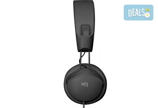 Изгодно и качествено! Подарете си леки и елегантни черни слушалки XQISIT! - Снимка 2