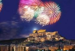 Посрещнете Нова година 2019 в Атина с Trips2go! 4 нощувки със закуски в Xenophon Hotel Athens 4*, транспорт, екскурзовод и панорамна обиколка - Снимка