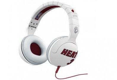 За почитателите на баскетбола! Слушалки Skullcandy Hesh 2.0 с микрофон и брандирани с NBA HEAT - Снимка