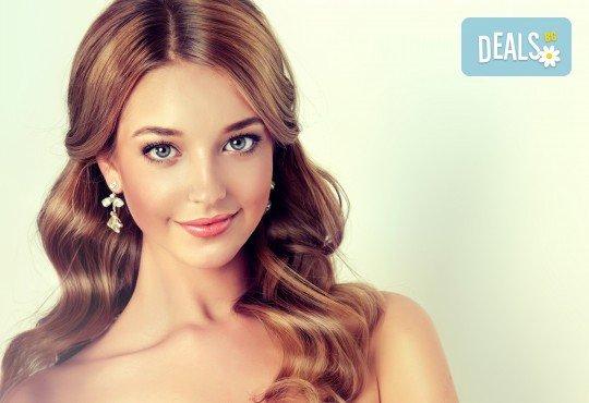 Кератинова или дълбоко възстановяваща терапия за коса и по желание подстригване и оформяне на прическа със сешоар в Студио за красота BLOOM beauty! - Снимка 1