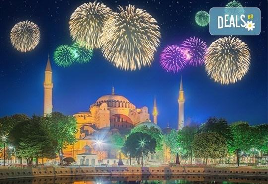 Отпразнувайте идването на Новата година в Истанбул, Турция! 2 нощувки със закуски в Hotel Vatan Asur 3*, транспорт и бонус: посещение на Mall Forum! - Снимка 1
