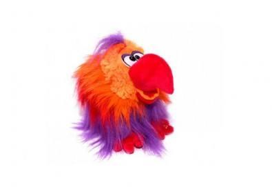 Вземете червен плюшен, говорещ папагал от Toys.bg! - Снимка