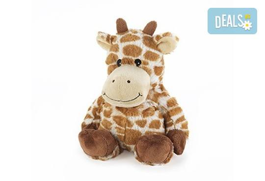 Плюшено нагряващo се Жирафче Cozy Plush Giraffe от Intelex - Снимка 1