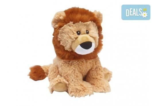 Плюшен нагряващ се Лъв от Warmies - Снимка 1