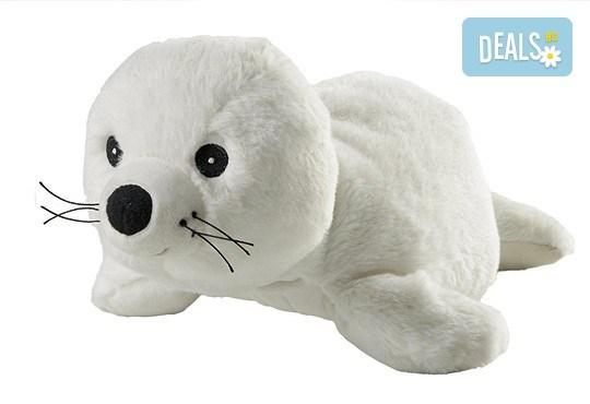 Плюшено нагряващо се тюленче от Warmies - Снимка 1