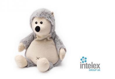 Плюшено нагряващо се Таралежче Cozy Plush Hedgehog от Intelex - Снимка