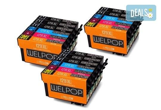 Съвместими глави за принтери Epson - T1291 T1292 T1293 T1294 XL - 129XL от Ай Пи Джи Трейд! - Снимка 1