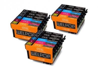 Съвместими глави за принтери Epson - T1291 T1292 T1293 T1294 XL - 129XL от Ай Пи Джи Трейд! - Снимка