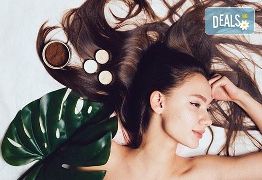 Подстригване, терапия по избор: кератинова или агранова с продукти Phase или Farmavita, и оформяне със сешоар в салон Make Trix в Белите брези! - Снимка 1