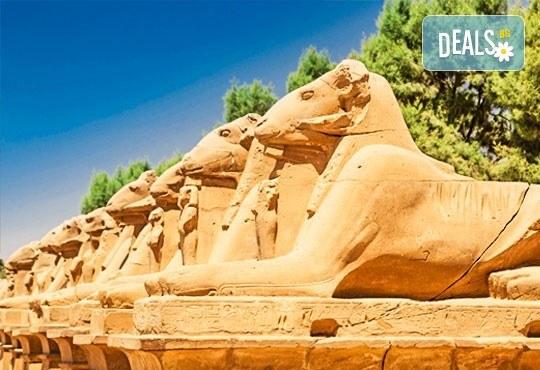 Ранни записвания за екскурзия в Египет през 2019-та! Самолетен билет, летищни такси, трансфери, 4 нощувки All Inclusive в Хургада, 3 нощувки FB на круизен кораб 5*, богата програма - Снимка 2