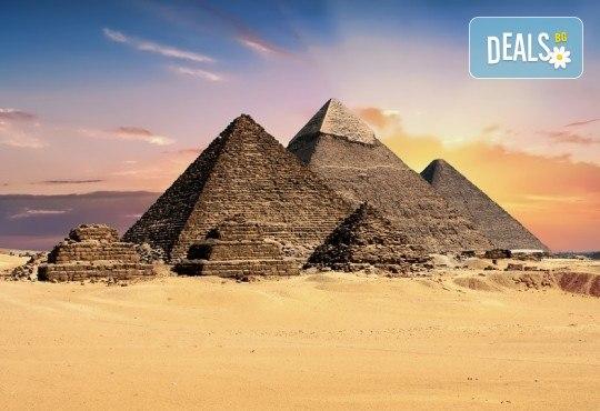 Ранни записвания за екскурзия в Египет през 2019-та! Самолетен билет, летищни такси, трансфери, 4 нощувки All Inclusive в Хургада, 3 нощувки FB на круизен кораб 5*, богата програма - Снимка 1