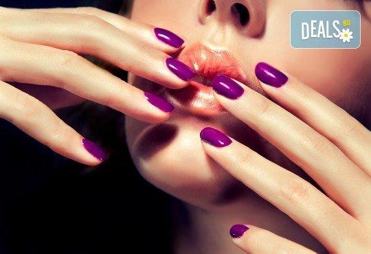 Красиви и дълготрайни цветове с маникюр с гел лак в цвят по избор в салон за красота Айрин! - Снимка 2