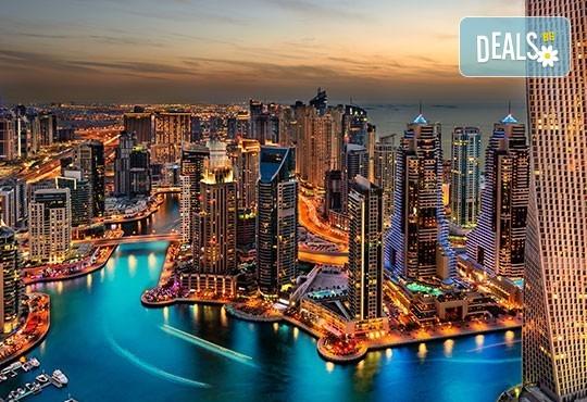 Last minute! Дубай - светът на мечтите, през ноември! 5 нощувки със закуски, самолетен билет, летищни такси, чекиран багаж, трансфери и обзорна обиколка! - Снимка 1