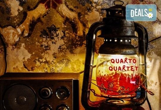 """Балканска носталгия: Quarto Quartet, Георги Андреев - гъдулка и музиканти от класически и народни оркестри, на 20.11.от 19.00 ч. в Зала """"България"""", билет за един - Снимка 2"""
