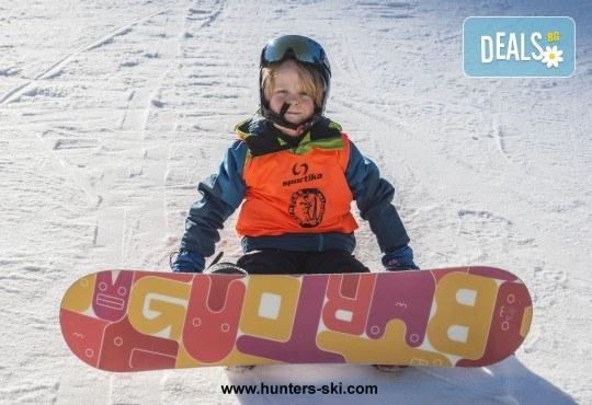 На ски в Боровец! Еднодневен наем на ски или сноуборд оборудване за възрастен или дете от Ски училище Hunters! - Снимка 5