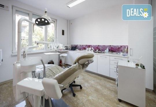 Здрави зъби! Лечение на кариес и поставяне на висококачествена фотополимерна пломба в DentaLux! - Снимка 3