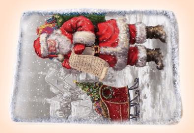 За Коледа и Нова година! Kоледна торта с какаови мъфини, шоколад и празнична снимка от Muffin House! - Снимка