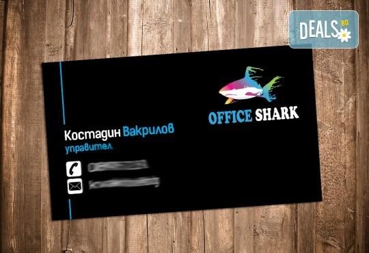 За бизнеса! 1000 луксозни двустранни визитки с UV лак гланц, пълноцветен печат от Pokanabg.com! - Снимка 6