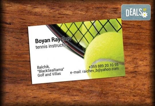 За бизнеса! 1000 луксозни двустранни визитки с UV лак гланц, пълноцветен печат от Pokanabg.com! - Снимка 10