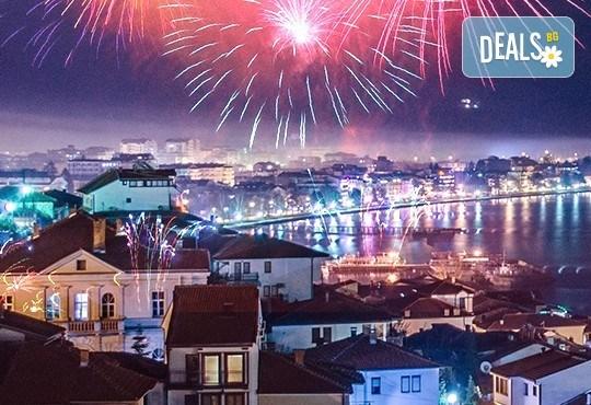 Нова година в Охрид, Македония, с България Травел! 3 нощувки със закуски, 2 вечери с жива музика в Hotel Village 4*, транспорт и посещение на Скопие! - Снимка 1