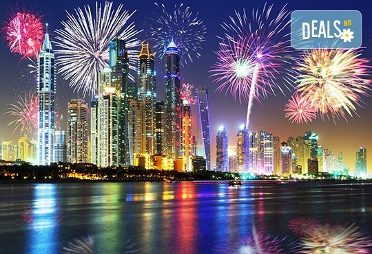 Посрещнете Нова година 2019 в Дубай, с Дари Травел! 6 нощувки със закуски, самолетен билет, летищни такси, чекиран багаж, трансфери и обзорна обиколка в Дубай! - Снимка 1