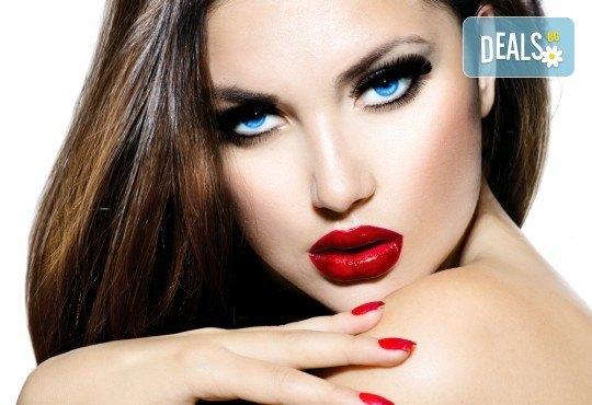 За приковаващ поглед! Поставяне на цели мигли или на снопчета в Makeup by MM! - Снимка 2