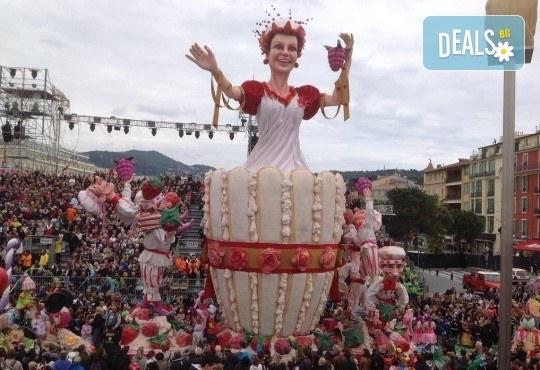 Вижте Карнавалите на Френската ривиера през 2019 с Дари Травел! Самолетен билет, летищни такси, 3 нощувки със закуски в хотел 3*, автобусен транспорт, водач и програма! - Снимка 2