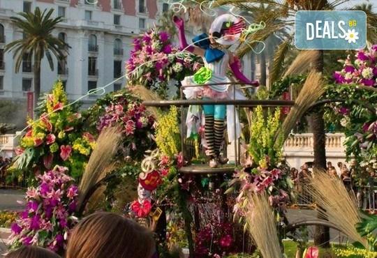Вижте Карнавалите на Френската ривиера през 2019 с Дари Травел! Самолетен билет, летищни такси, 3 нощувки със закуски в хотел 3*, автобусен транспорт, водач и програма! - Снимка 5