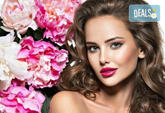 Бъдете очарователни с прическа в Blush Beauty! Подхранваща терапия масажно измиване и прическа: букли, къдрици, прав или начупен сешоар - Снимка 1