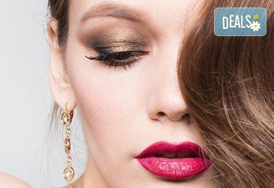 Красивия визия по празниците! Дневен или вечерен грим със или без поставяне на мигли от Makeup by MM! - Снимка 3