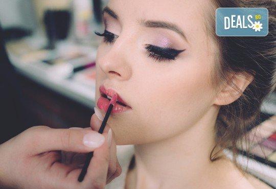 Изящна в най-важния ден! Булчински грим със или без поставяне на мигли от Makeup by MM! - Снимка 4