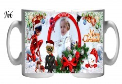 За Коледа! Забавни чаши за малки и големи + снимка и надпис от Сувенири Царево! - Снимка