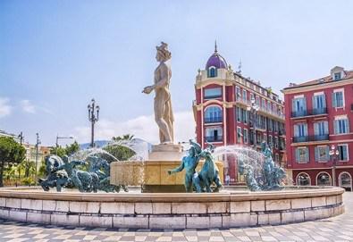 Самолетна екскурзия до Ница - столицата на Лазурния бряг, Франция! 4 нощувки със закуски в хотел 3*, самолетен билет, летищни такси и застраховка! - Снимка