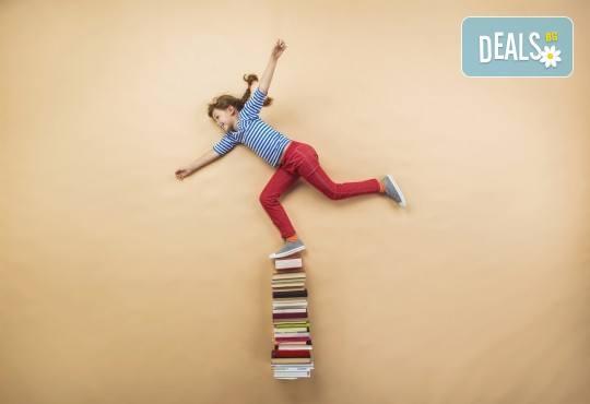 Едномесечен курс за деца по немски, френски или руски език на ниво Pre-A1 в Образователна академия Smile! - Снимка 1