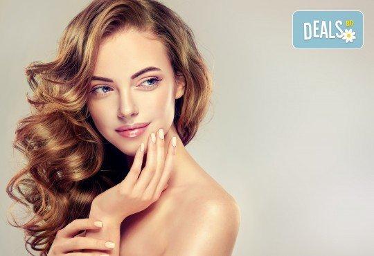 Масажно измиване, подстригване, сешоар и арганова терапия в салон за красота Noni Style! - Снимка 1