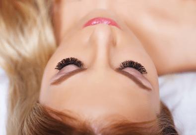 Поставяне на мигли по метода косъм по косъма или обемна техника 3D в Лазер Студио Аглеа! - Снимка